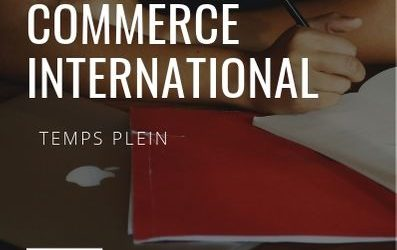 Certificat en commerce international FITT Temps plein