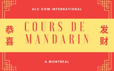 Cours de mandarin