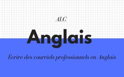 Écrire des courriels professionnels en Anglais