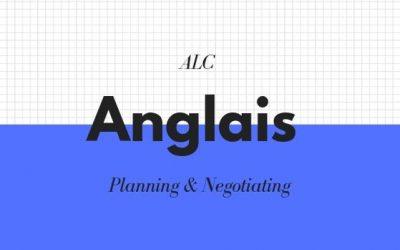Planning & Negotiating